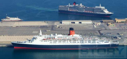 TheQEStory QE Today And QE News - Qe2 cruise ship